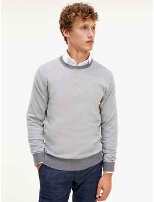 Tommy Hilfiger Organic Cotton And Wool Sweater