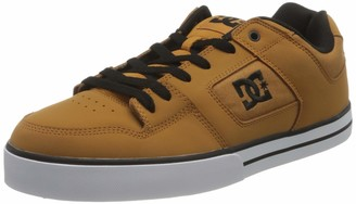 DC Unisex Adults' PURE Low-Top Trainer Brown Size: 5
