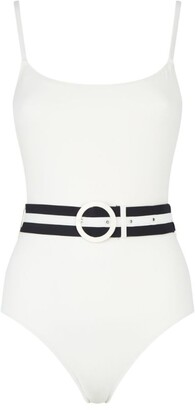 Solid & Striped Nina Belted Swimsuit
