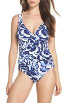 Tommy Bahama Pansy Petals One-Piece Swimsuit