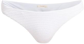 Eberjey Swim Anna Waves Low-Rise Bikini Bottom
