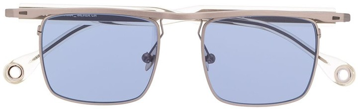 Études Eastern square frame sunglasses