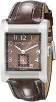 Baume & Mercier Baume Mercier Men's Hampton Leather Strap Automatic Watch A10028