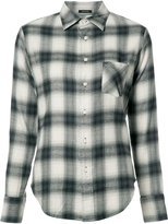 R 13 Slim Boy Plaid Shirt