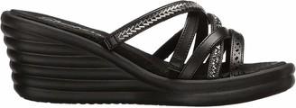 Skechers Women's Rumbler Wave-New Lassie Wedge Sandal