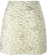 Kenzo cloqué mini skirt - women - Cotton/Polyamide/Polyester/Metallized Polyester - 36
