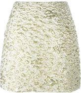 Kenzo cloqué mini skirt - women - Metallized Polyester/Polyester/Polyamide/Acetate - 36