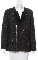 Louis Vuitton Silk-Blend Tweed Jacket