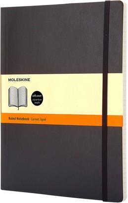 Moleskine Extra Large Soft Cover Ruled Notebook