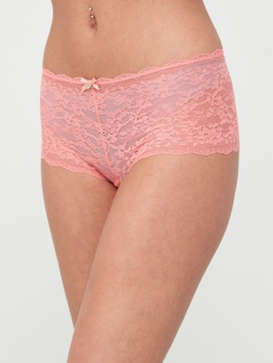 Boux Avenue Molly Short Briefs- Coral
