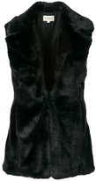 Denim & Supply Ralph Lauren fur gilet - women - Acrylic/Polyester/Acetate - S