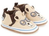 Robeez 'Brainy Bear' Crib Shoe (Baby & Walker)