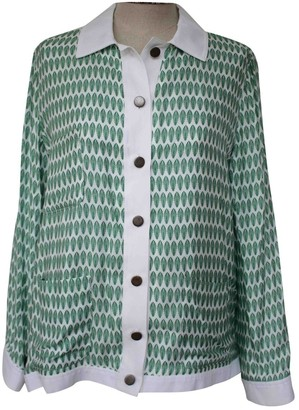Margaux Lonnberg Green Viscose Tops