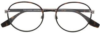 Marc Jacobs Tortoiseshell Round Glasses