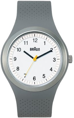 Braun Brown Unisex Watch Analogue Quartz Silicone 66539 BN0111WHGYG