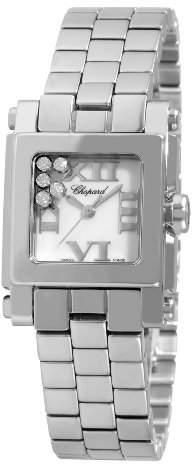 Chopard Women's 278516-3002 Happy Sport Diamond Dial Watch
