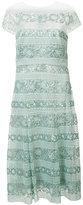 Tadashi Shoji sequinned lace dress - women - Nylon/Polyester/Rayon - 10