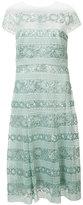 Tadashi Shoji sequinned lace dress - women - Polyester/Rayon/Nylon - 6