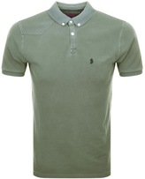 Luke 1977 Basking Polo T Shirt Green