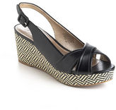 Circa Joan & David Walbridge Leather Slingback Wedge Sandals