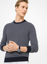 Michael Kors Dot Cotton Sweater