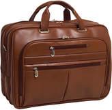 """McKlein McKleinUSA Rockford 15.6"""" Leather Fly-Through Checkpoint-Friendly Laptop Briefcase"""