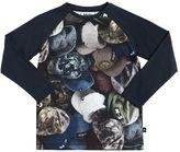 Molo Hats Print Cotton Jersey T-Shirt