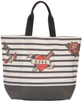 Karl Lagerfeld Captain Cotton Canvas Tote Bag