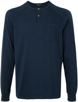 James Perse Raglan Sleeve Cashmere Sweater