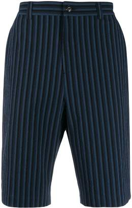 MAISON KITSUNÉ striped shorts