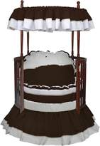 Babydoll Baby Doll Regal Round Crib Bedding