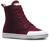 Dr. Martens Hackney Faux Shearling Lined High Top Sneaker