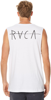 RVCA Horton Mens Muscle White