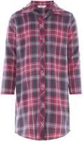 Minijammies Girls Checked Long Sleeve Nightshirt