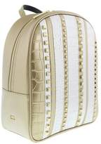 Roberto Cavalli Milano Backpack Milano Rmx 006 Light Gold/silver Backpack.