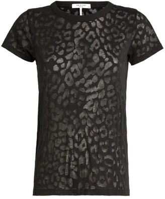 Rag & Bone Cheetah Print T-Shirt