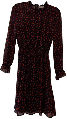 Hallhuber Black Silk Dress for Women