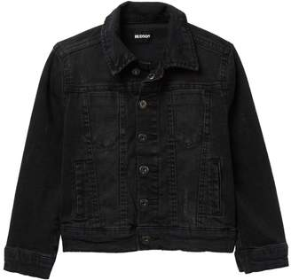Hudson Jeans Distressed Trucker Jean Jacket (Little Boys)