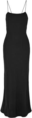 Grey Jason Wu Cutout Twill Maxi Dress
