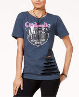 Bioworld Juniors' Cinderella Ripped Graphic T-Shirt