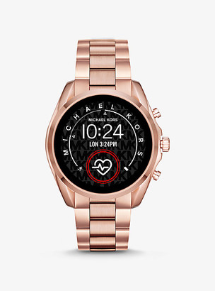 Michael Kors Gen 5 Bradshaw Rose Gold-Tone Smartwatch - Rose Gold