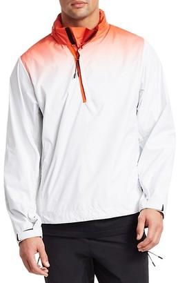 Madison Supply Ombre Hidden Hood Popover Jacket