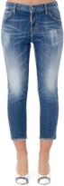 DSQUARED2 Slim Cropped Denim Jeans