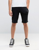 Armani Jeans Sweat Shorts With Logo In Black