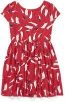 Ralph Lauren Sailboat Twist-Back Dress