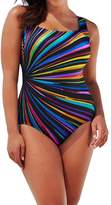 Women's One Piece Swimsuit, Billila Backless Swimwear, Plus Size Beach Bra (L)