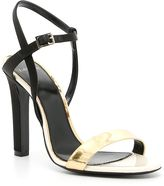 Lanvin Striped Sandals
