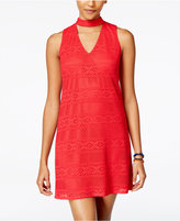 Amy Byer Juniors' Cutout Shift Dress