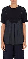 Maison Margiela Women's Layered T-Shirt & Cami-BLACK