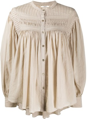 Etoile Isabel Marant Sheer Balloon Sleeves Blouse